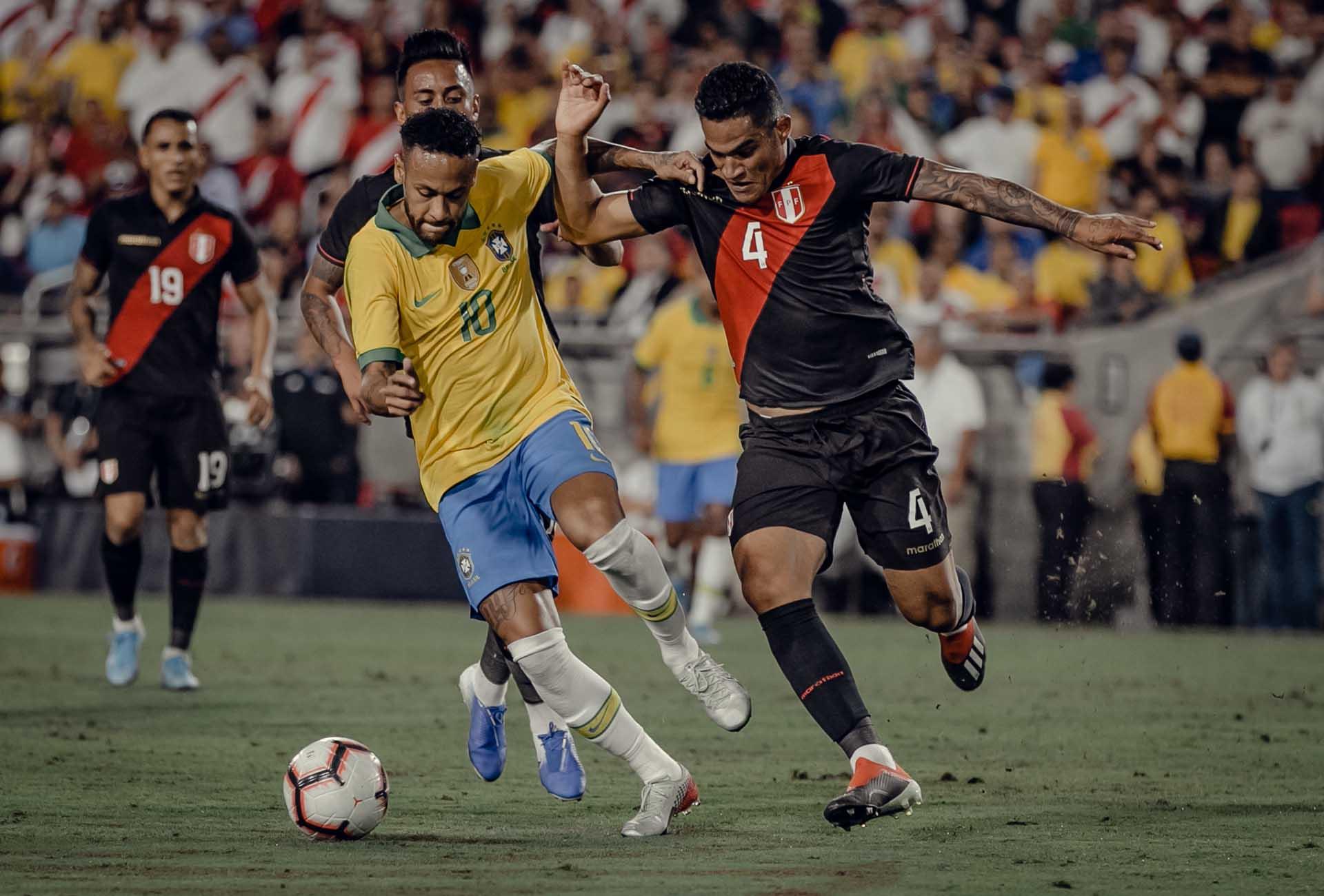 Framed 162 Brazil V Peru Soccerbible
