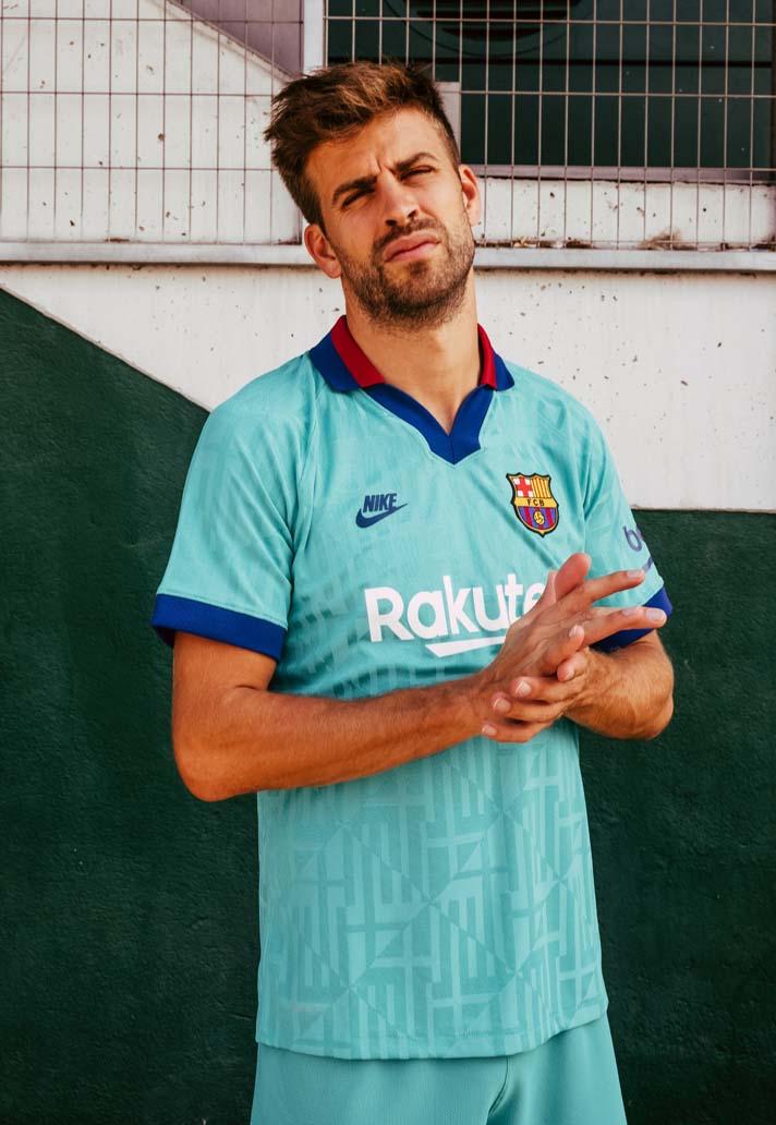 Nike Launch The Barcelona 2019/20 Third Shirt - SoccerBible
