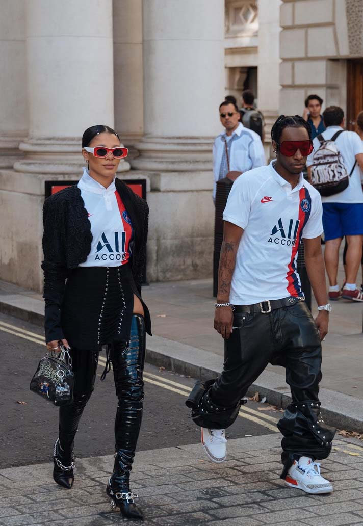 Psg Third Shirt On Show At London Fashion Week Soccerbible