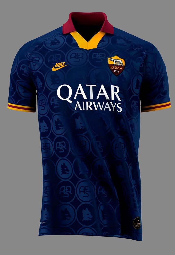 as roma third kit 2020