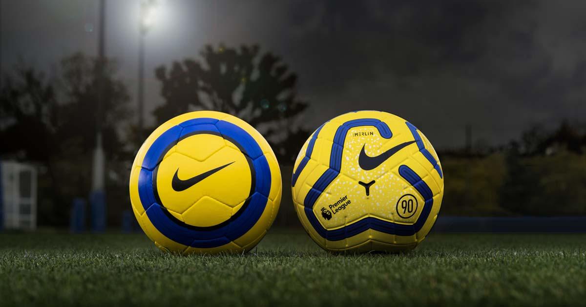 Inmigración Practicar senderismo parque Natural  Nike Launch The Hi-Vis Merlin 19/20 Premier League Ball - SoccerBible