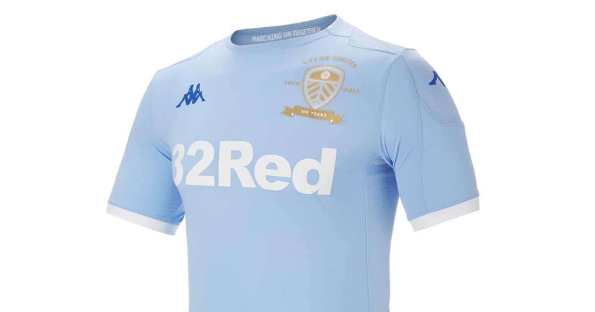 Kappa Launch Leeds United 19 20 3rd Shirt Soccerbible