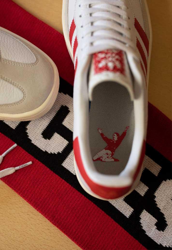adidas Originals & MUFC Launch Celebratory 1999 Sneaker - SoccerBible