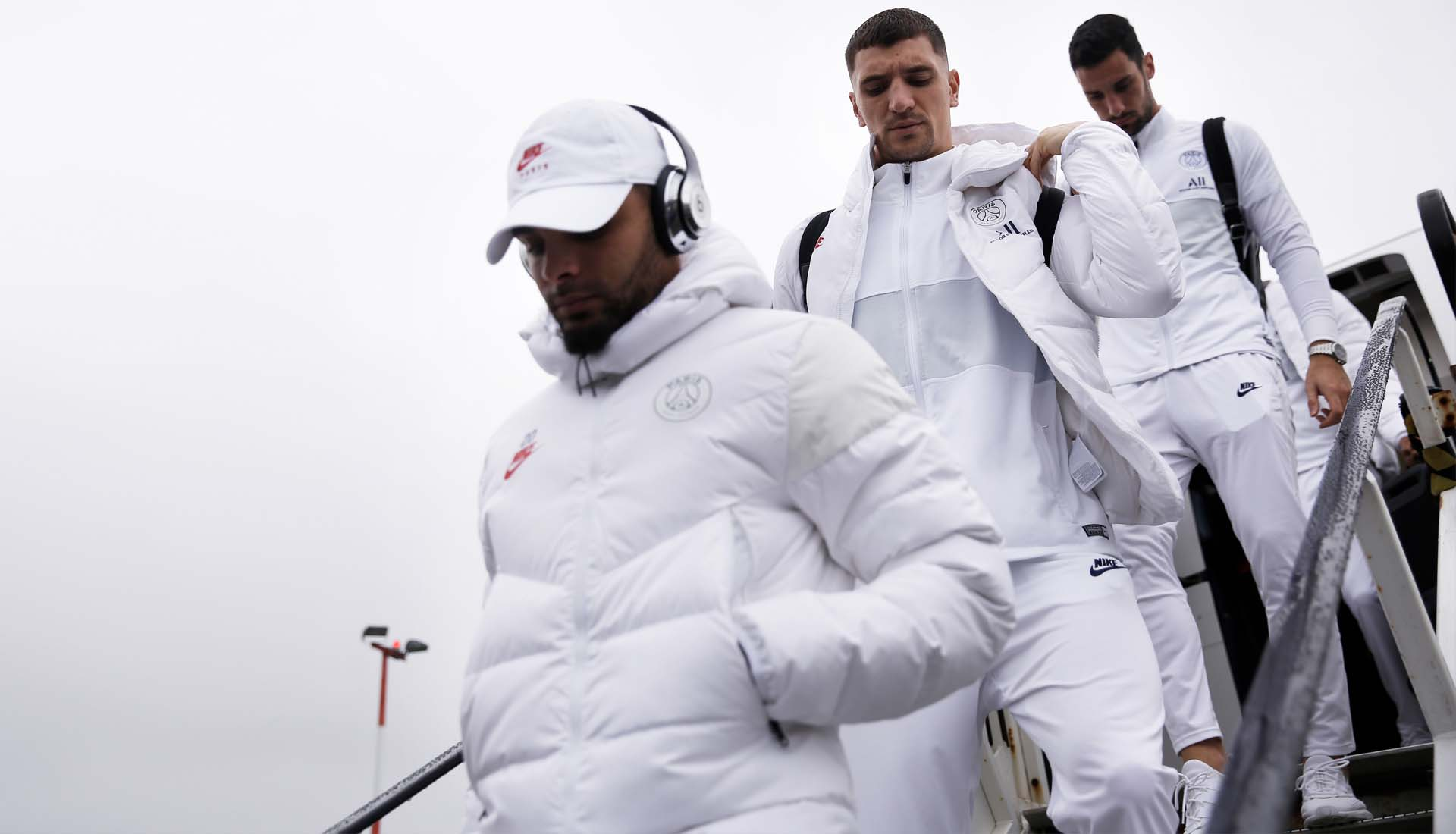 PSG Travel In New All White Nike Collection SoccerBible