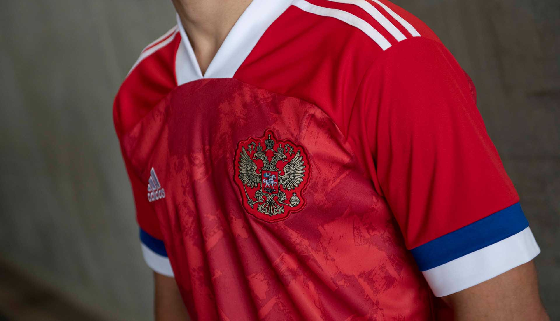adidas Reveal Russia EURO 2020 Home Shirt - SoccerBible