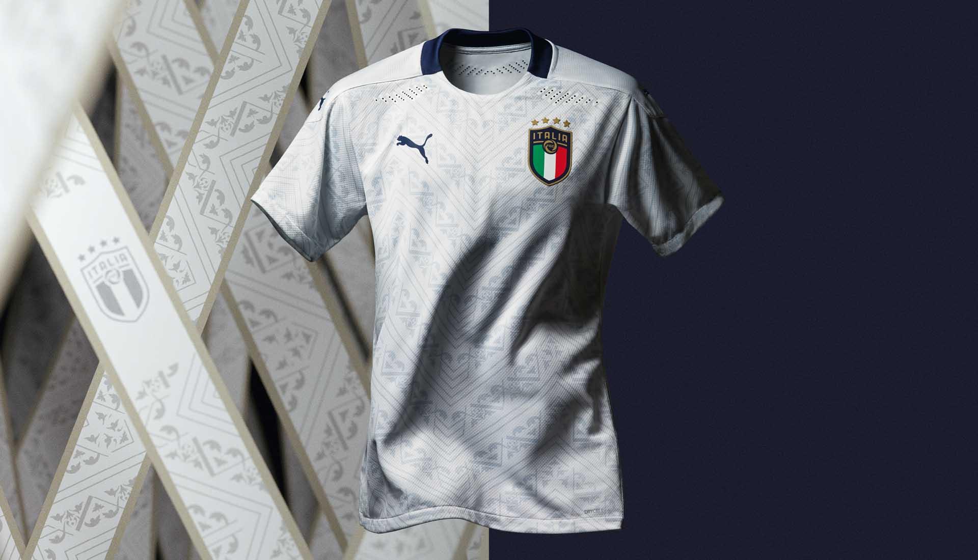 PUMA Reveal Italy EURO 2020 Away Shirt - SoccerBible