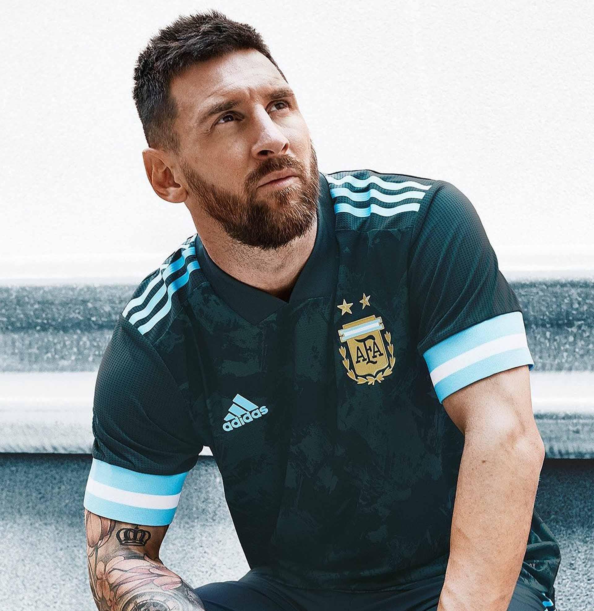 adidas Reveal Argentina 2020 Away Shirt - SoccerBible