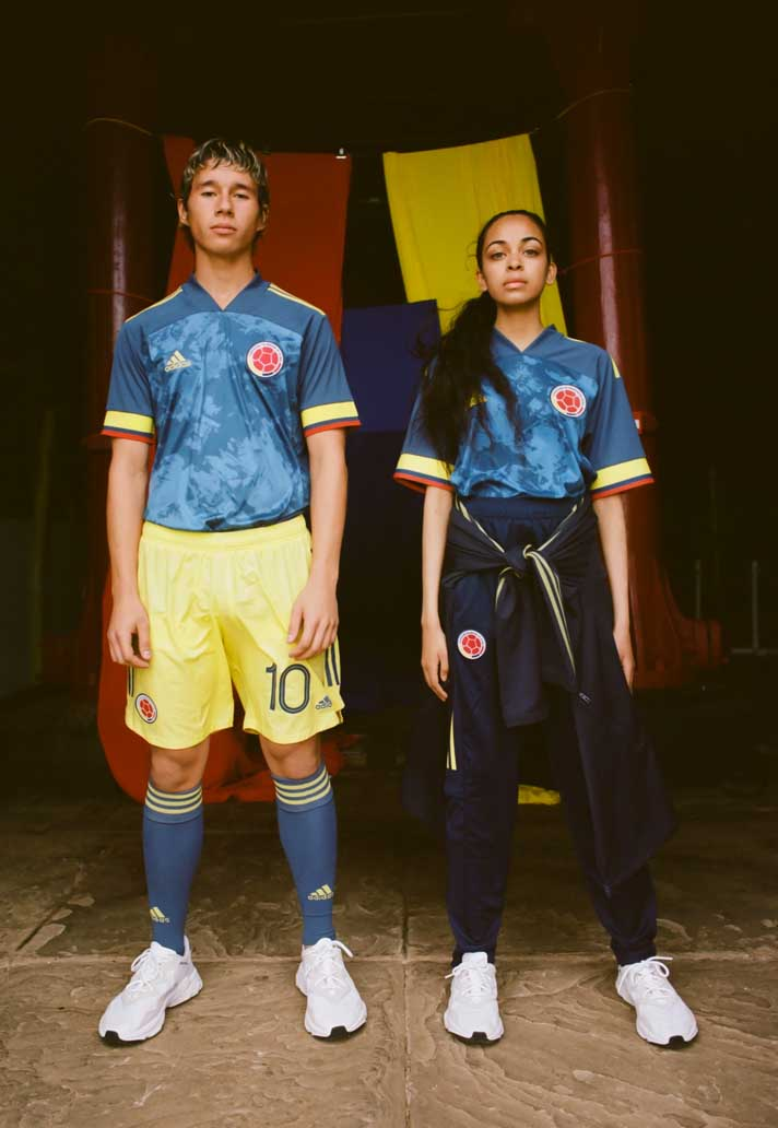 adidas Reveal Colombia 2020 Away Shirt - SoccerBible