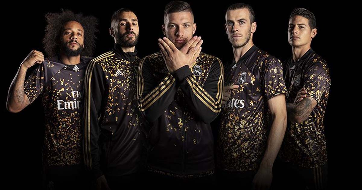 Adidas Launch Special Edition Real Madrid Shirt In