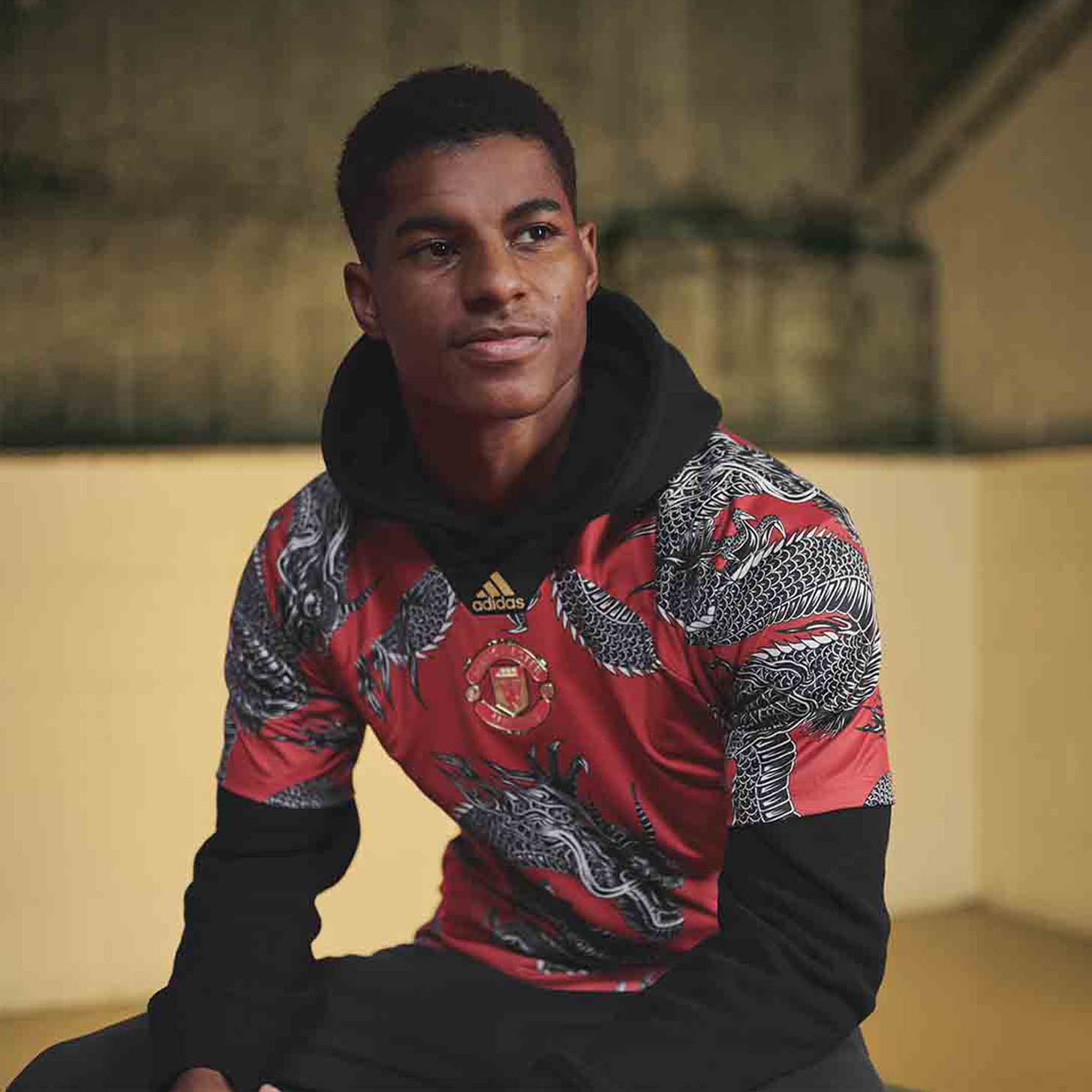 adidas Launch The Man United 19/20 Chinese New Year Jersey ...