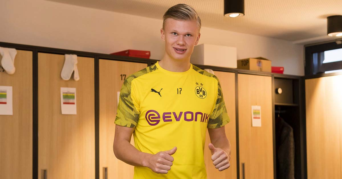 Haaland Set For Puma Switch After Dortmund Move Soccerbible