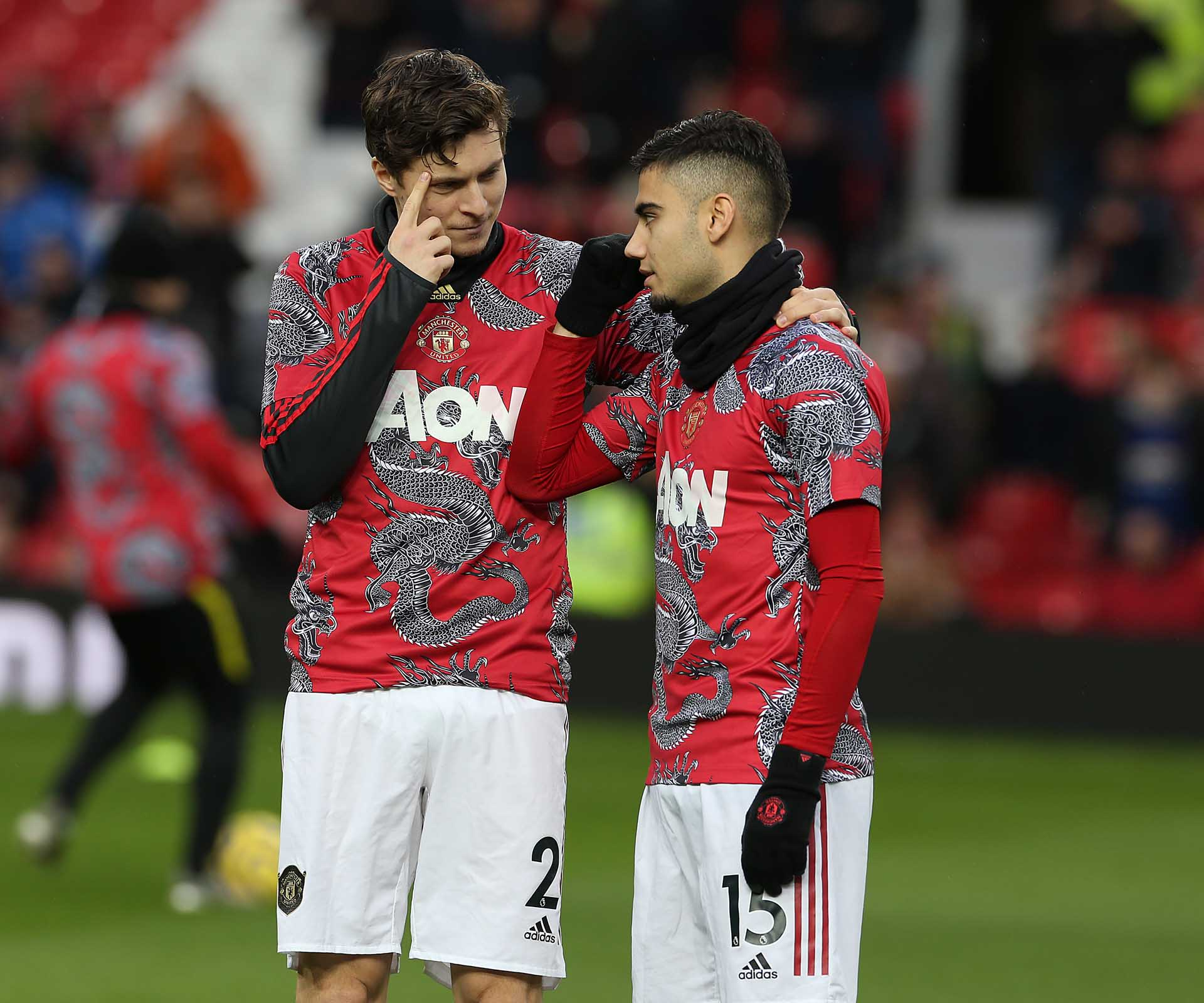 Manchester United Wear Chinese New Year Warm-Up Jerseys - SoccerBible