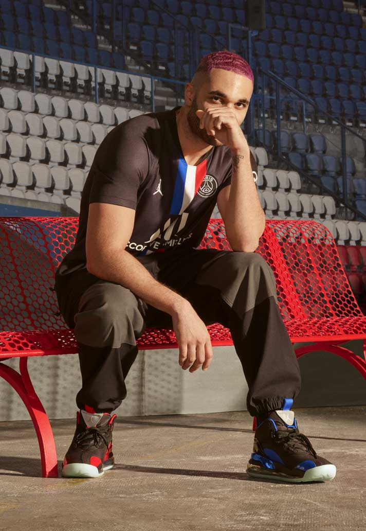 Psg X Jordan Launch Collaborative 19 20 Fourth Shirt Soccerbible