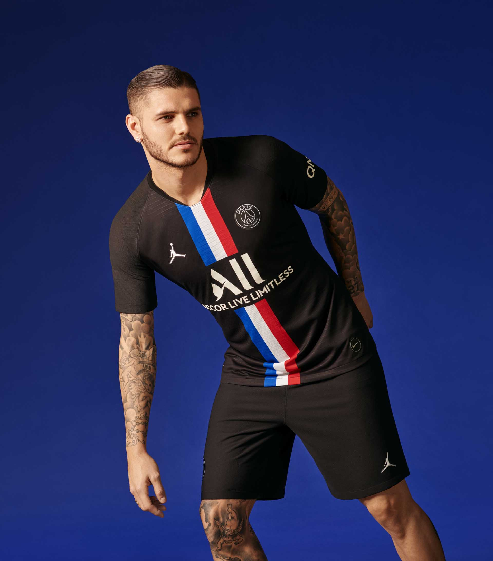 Psg X Jordan Launch Collaborative 19 20 Fourth Shirt Soccerbible