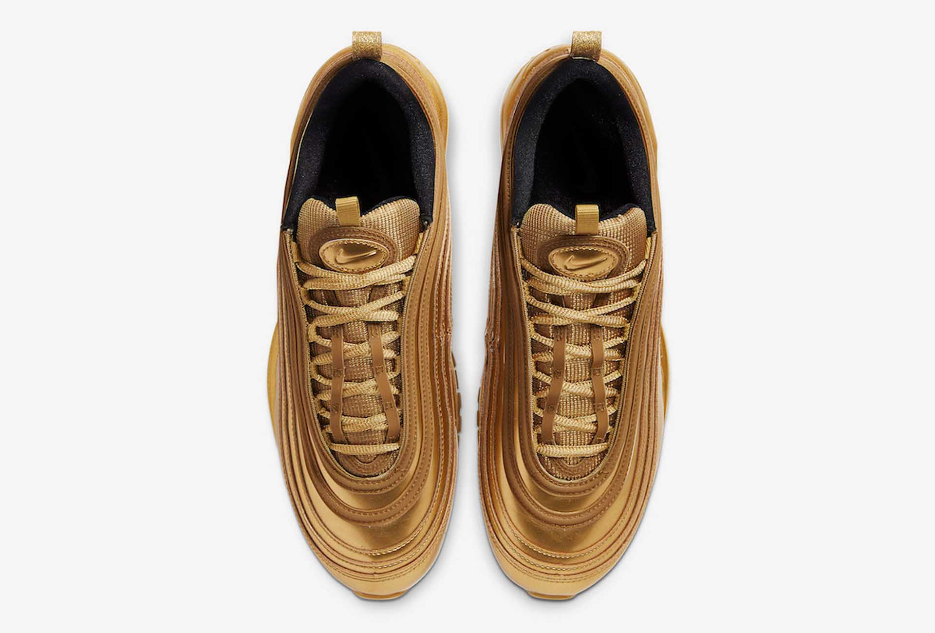 Nike Unveil Air Max 97 Gold Medal Ahead Of 2020 Olympics Soccerbible
