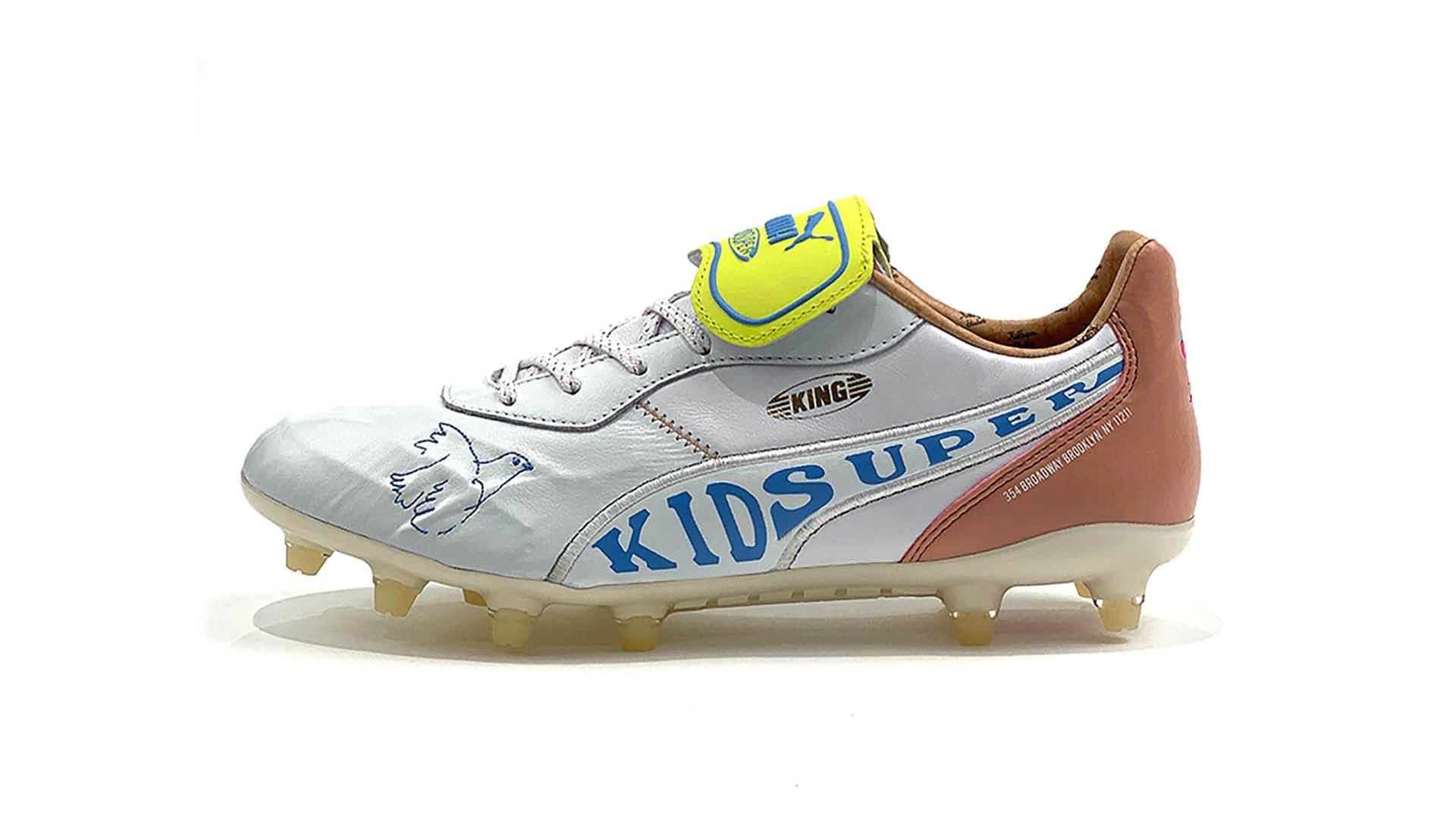 children's puma king football boots