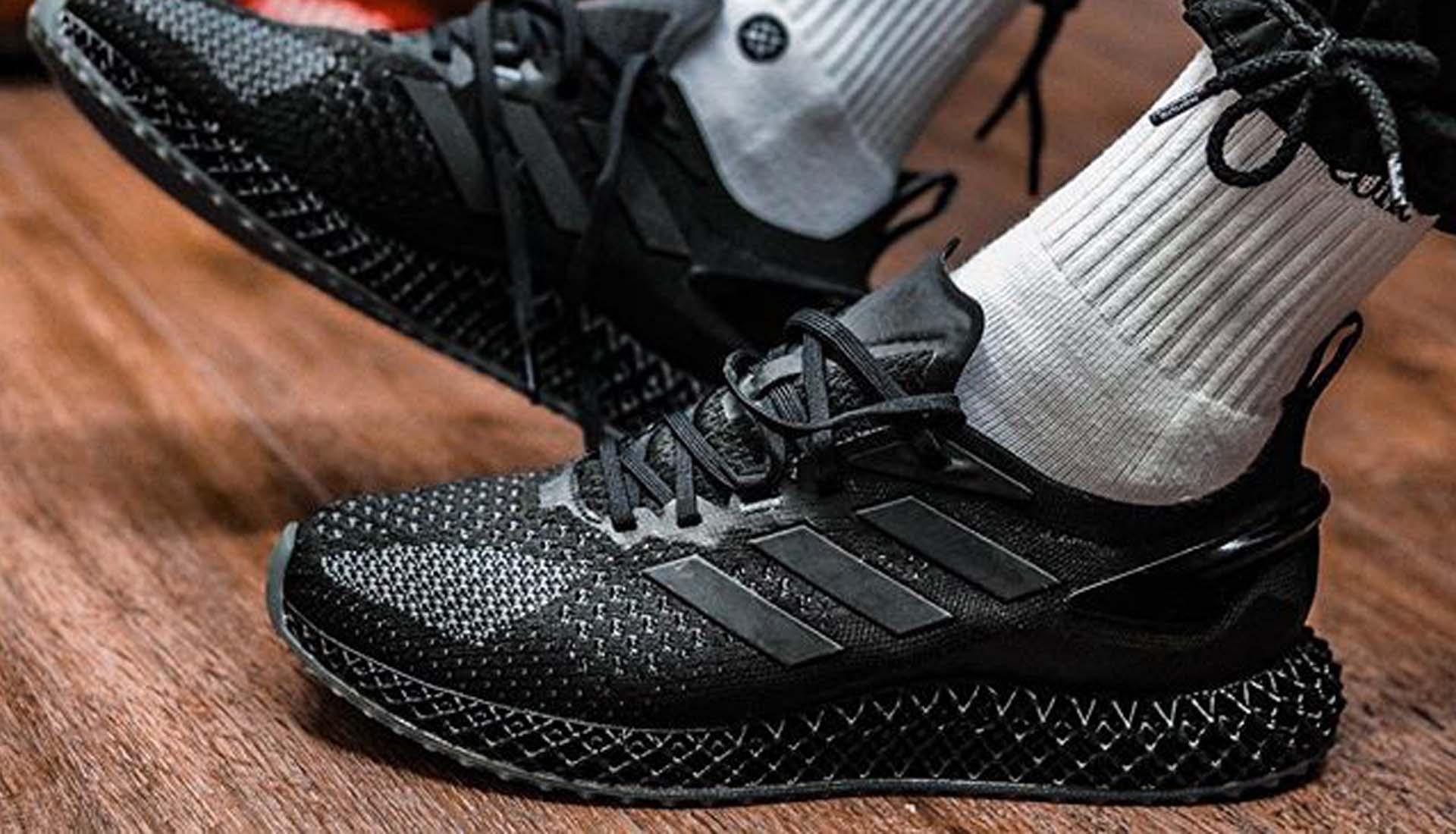 "adidas 4D Run 1.0 ""Triple Black"" Revealed - SoccerBible"