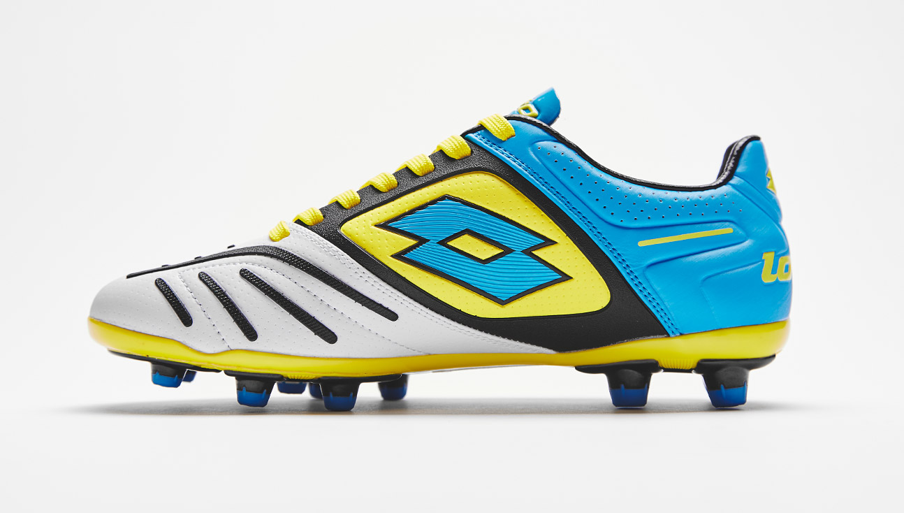Lotto Sport Stadio Potenza V 200 FG Chaussures de Football Homme