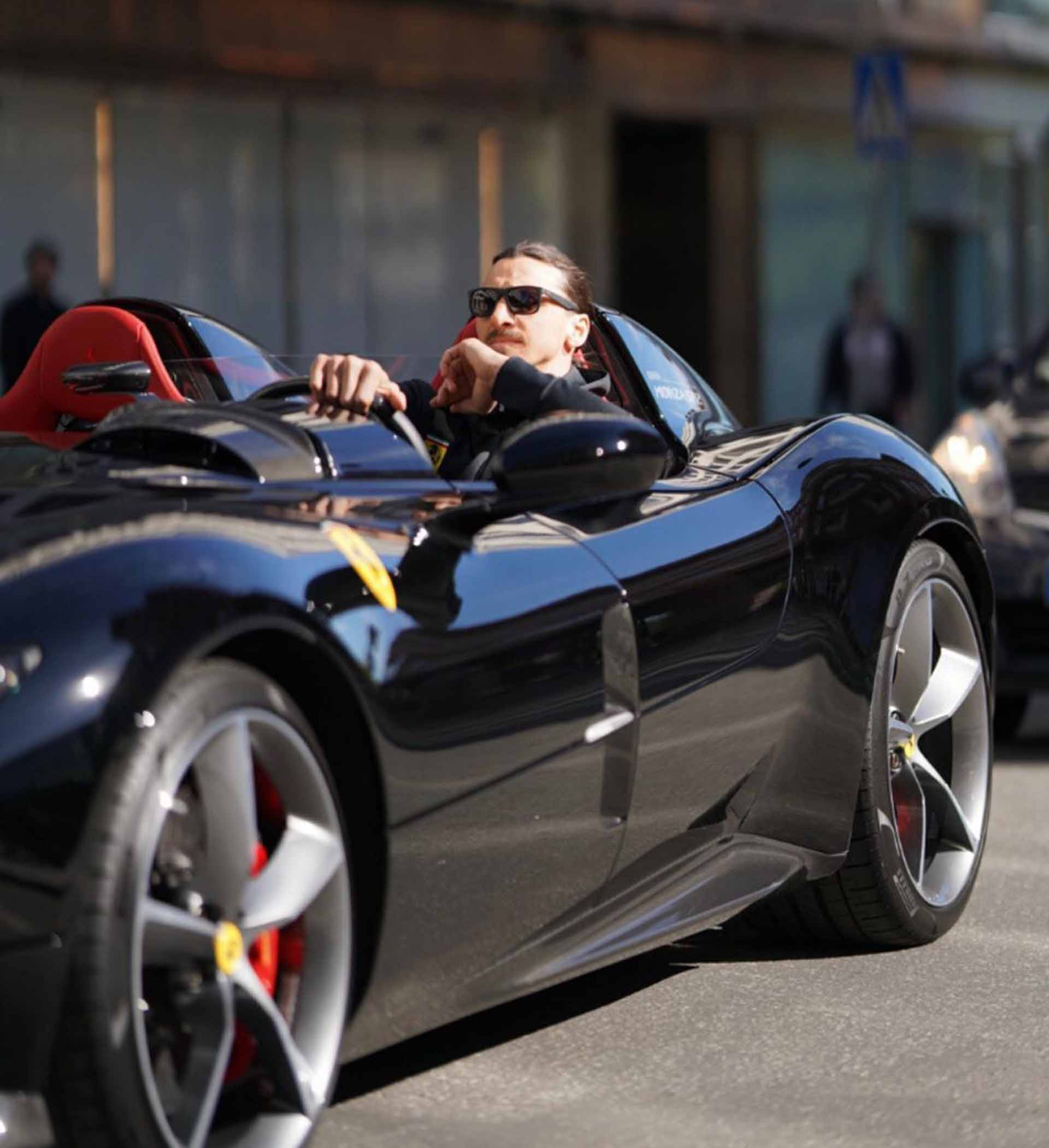 Zlatan Treats Himself To A Ferrari Monza Sp2 Soccerbible