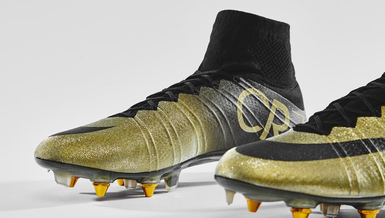 first rate f13f7 b6cc0 Closer Look | Nike Mercurial CR7 Rare Gold - SoccerBible
