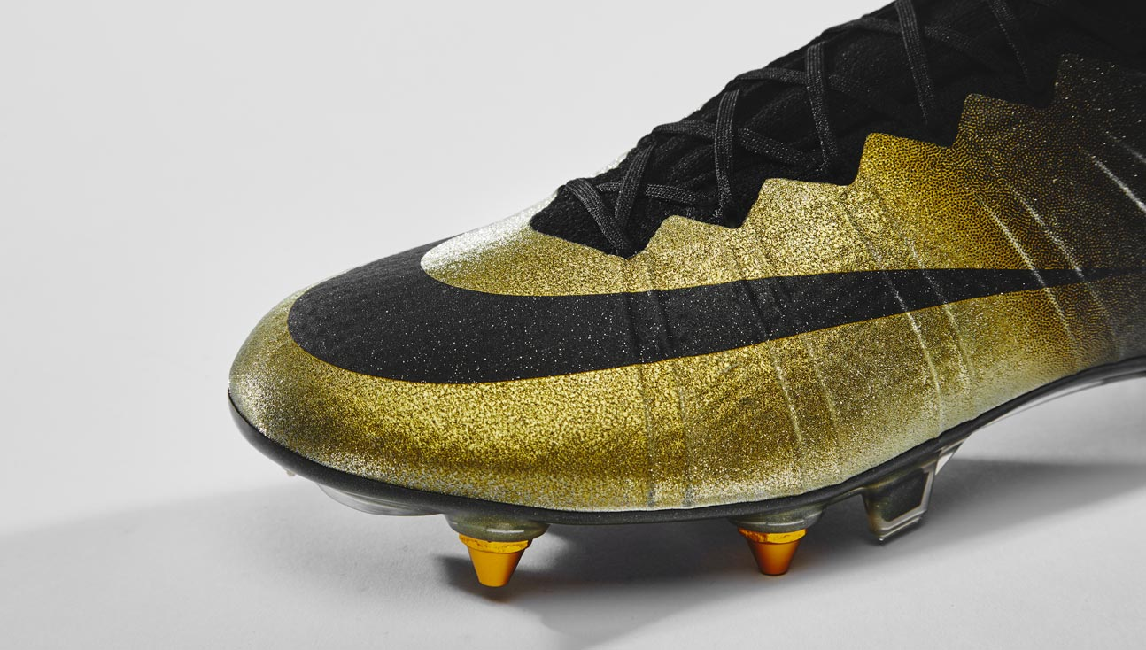 first rate d0902 3f375 Closer Look | Nike Mercurial CR7 Rare Gold - SoccerBible