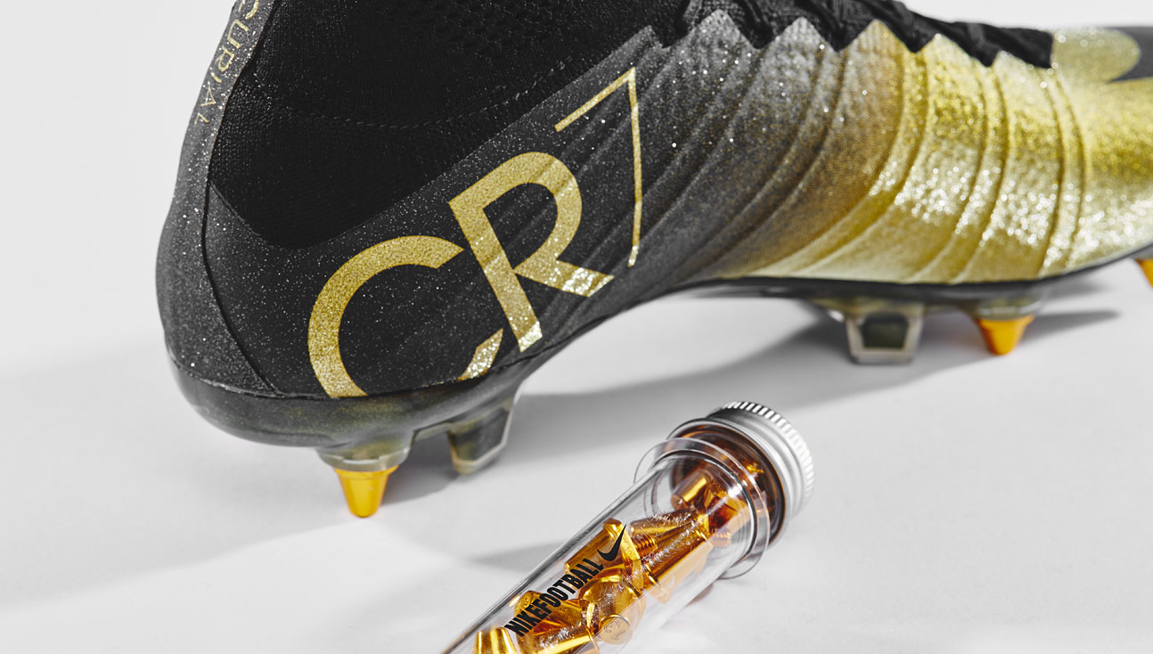 first rate c9b03 4312b Closer Look | Nike Mercurial CR7 Rare Gold - SoccerBible