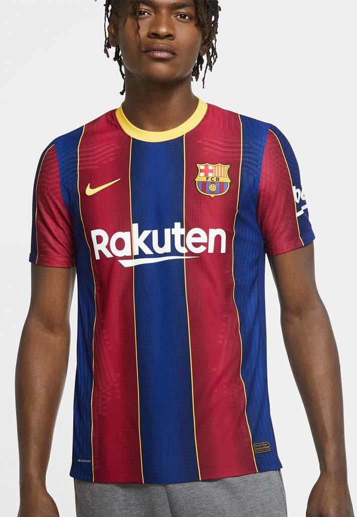 Nike Launch Barcelona 20 21 Home Shirt Soccerbible