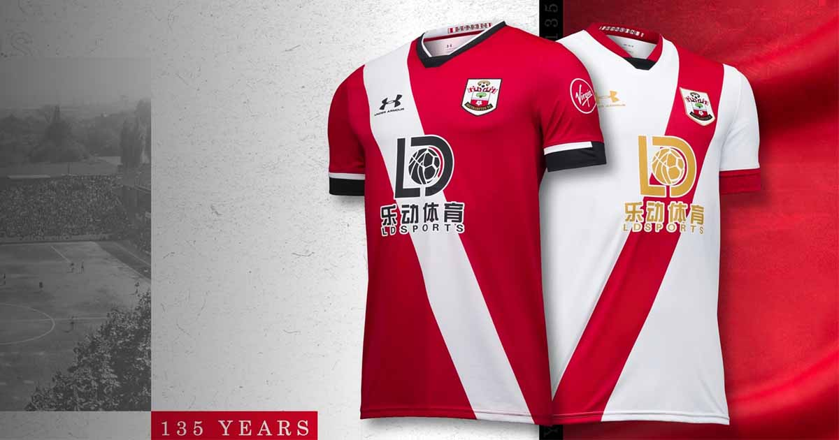 Under Armour Launch Southampton 20/21 Home & Third Shirts