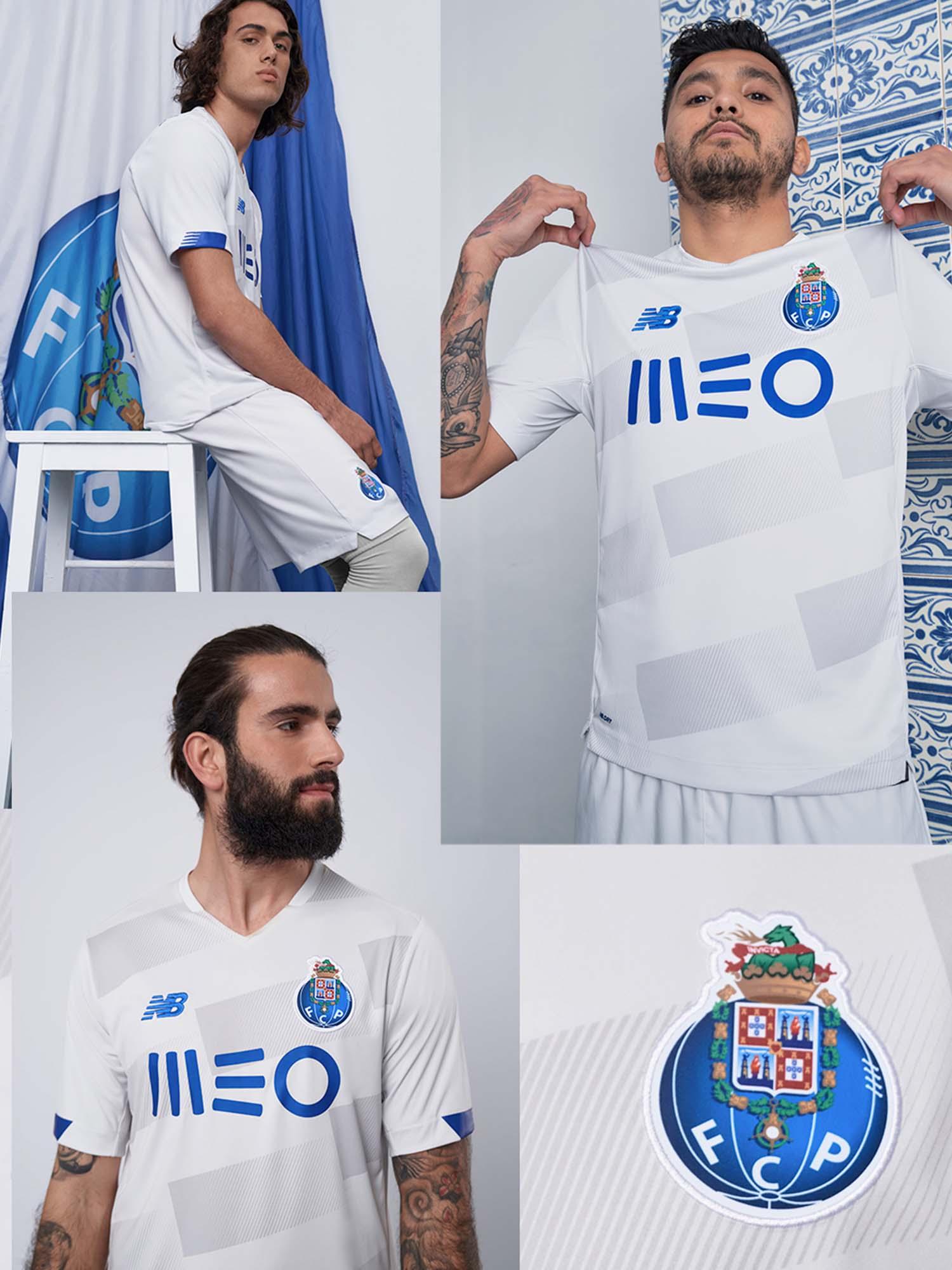Bailarín Moderador partícula  New Balance Launch FC Porto 20/21 Third Shirt - SoccerBible