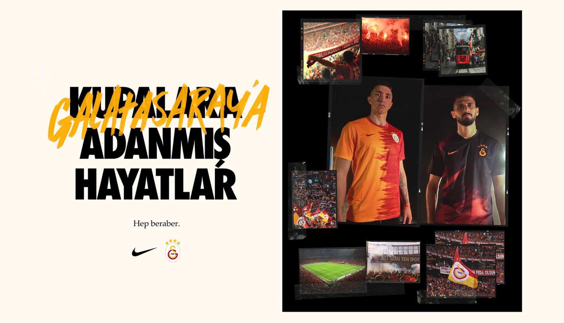Galatasaray Launch 20 21 Nike Home Away Shirts Soccerbible