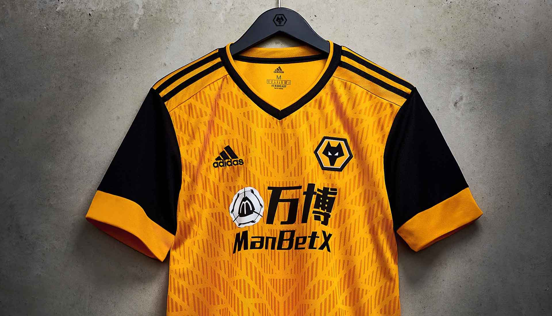 adidas Launch Wolves 20/21 Home Shirt - SoccerBible
