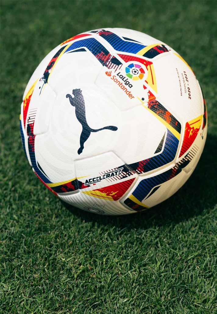 Puma Unveil The 20 21 La Liga Match Balls Soccerbible