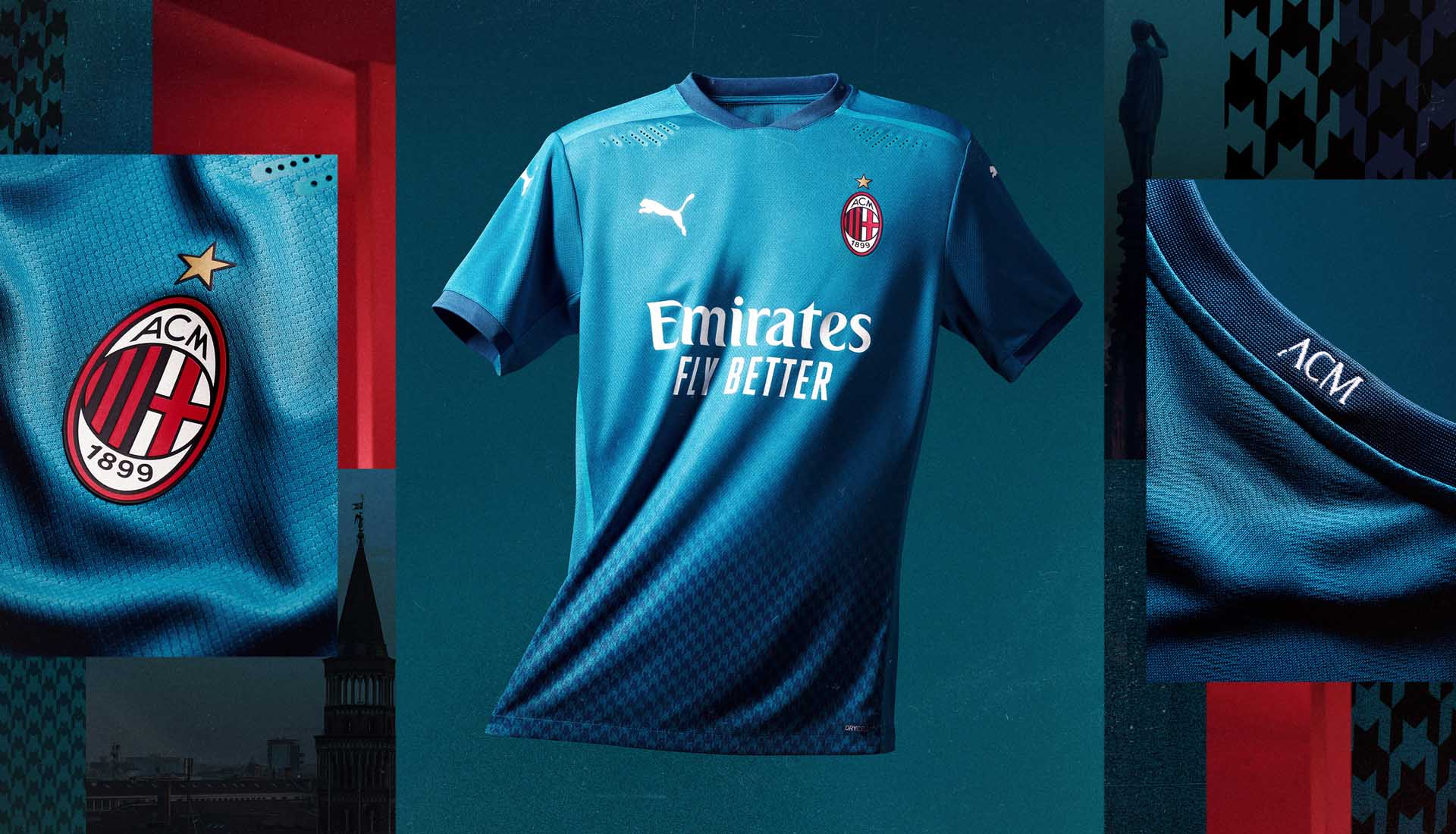 PUMA Launch AC Milan 20/21 Third Shirt - SoccerBible
