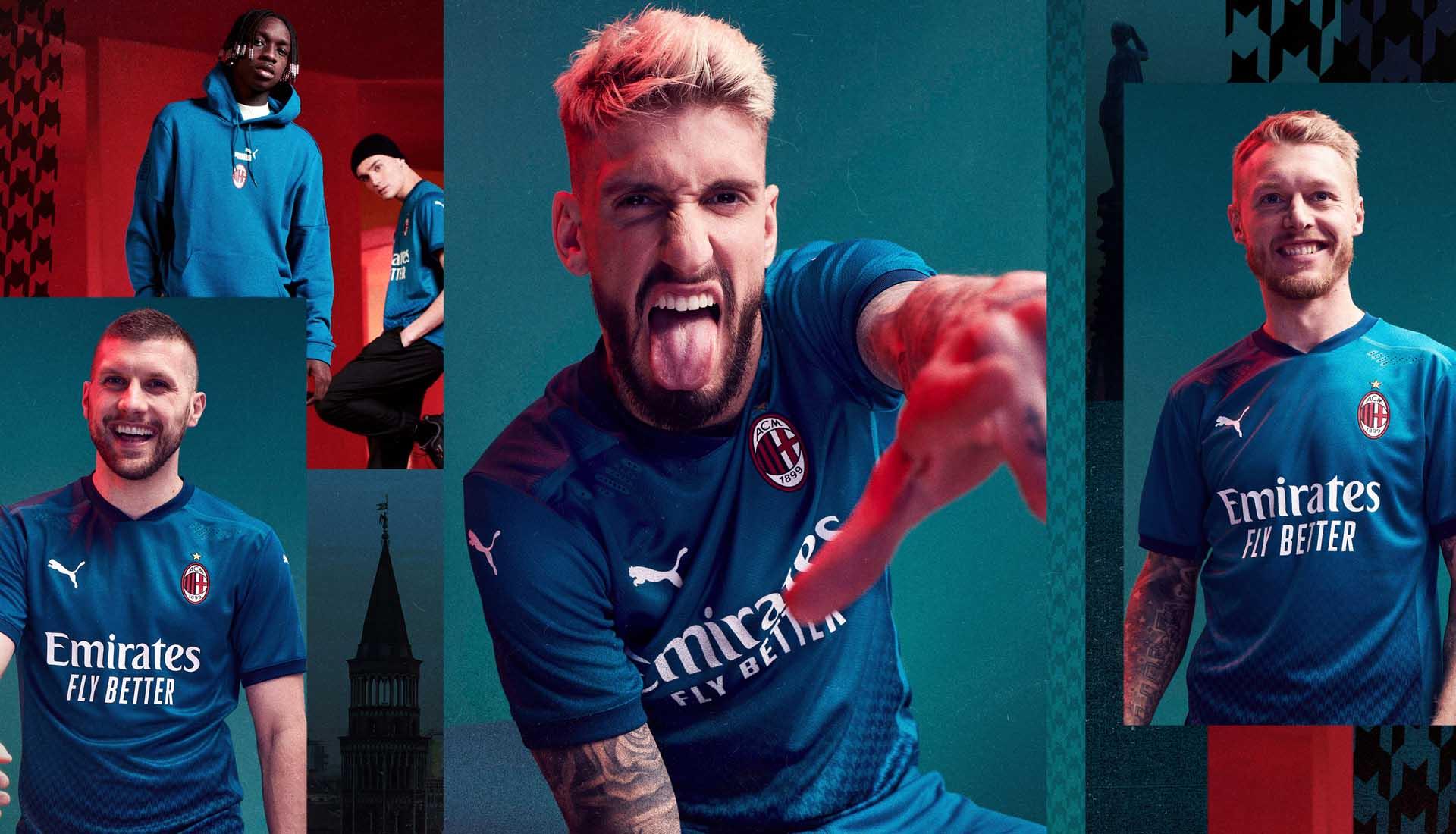 PUMA Launch AC Milan 20/21 Third Shirt - SoccerBible