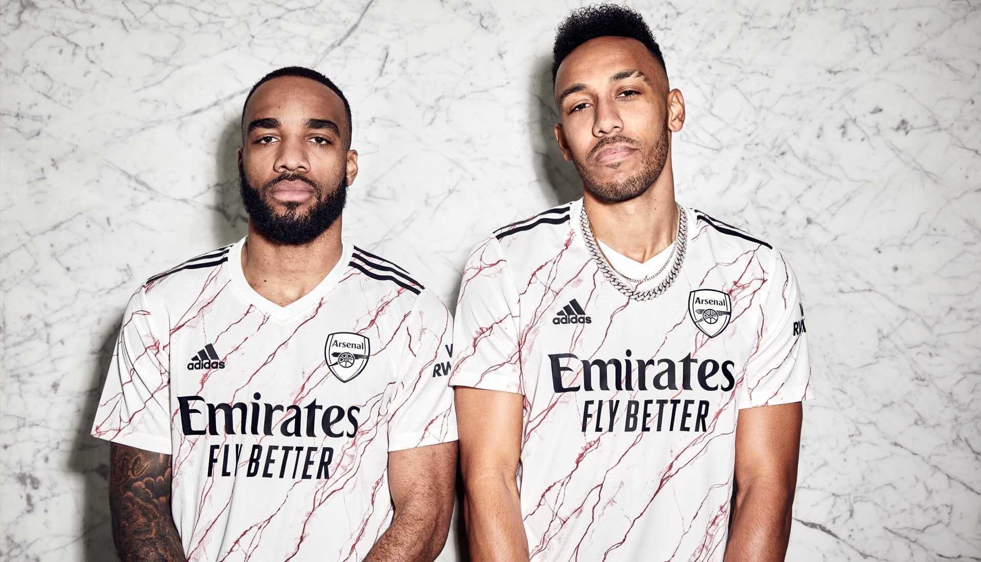 Adidas Launch Arsenal 20 21 Away Shirt Soccerbible