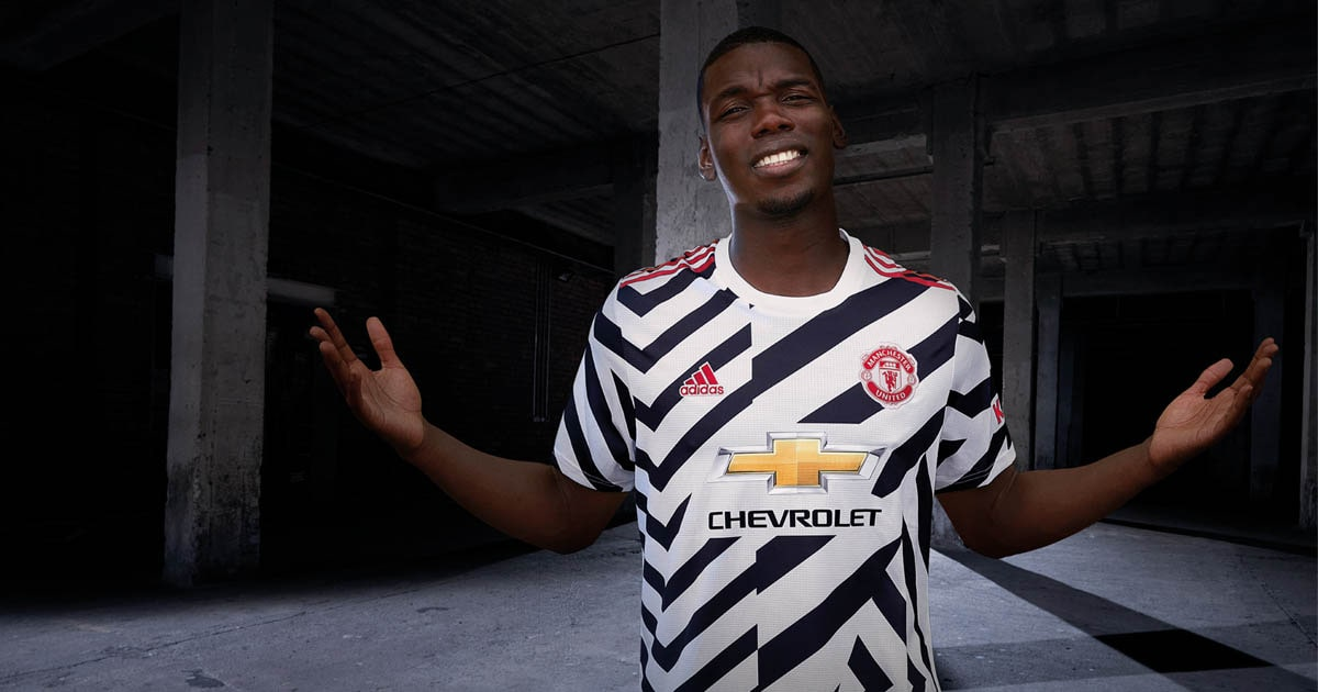 adidas Launch Manchester United 20/21 Third Shirt - SoccerBible