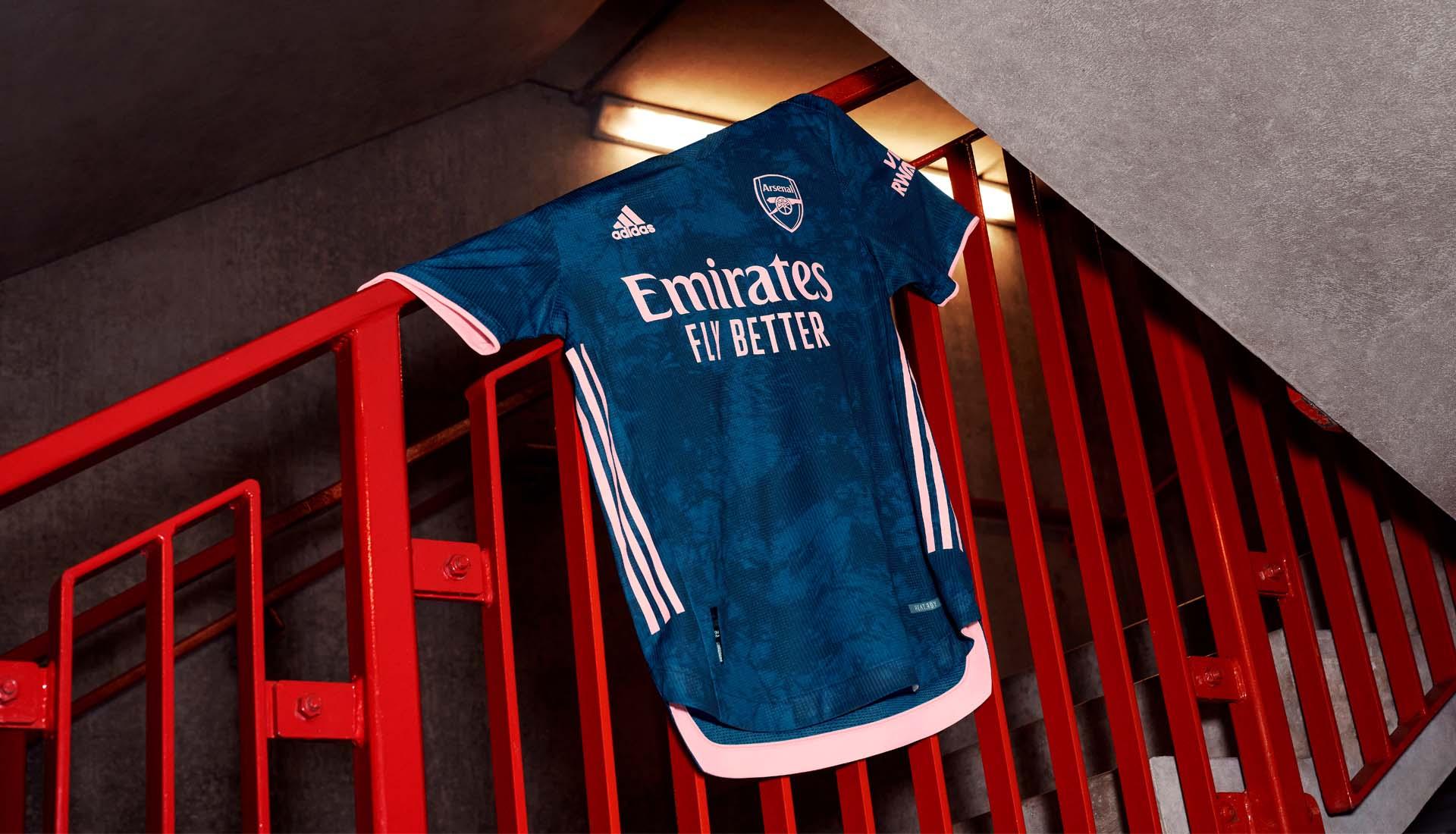 adidas Drop Arsenal 20/21 Third Shirt - SoccerBible