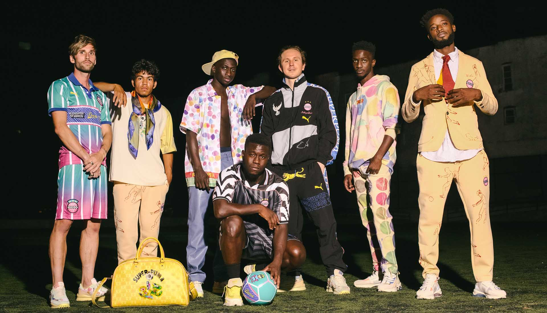 PUMA & KidSuper Release Football-Inspired Streetwear Collection ...
