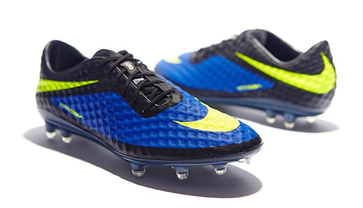 1f3583548c9 Nike HyperVenom Phantom - Blue Volt Black - SoccerBible