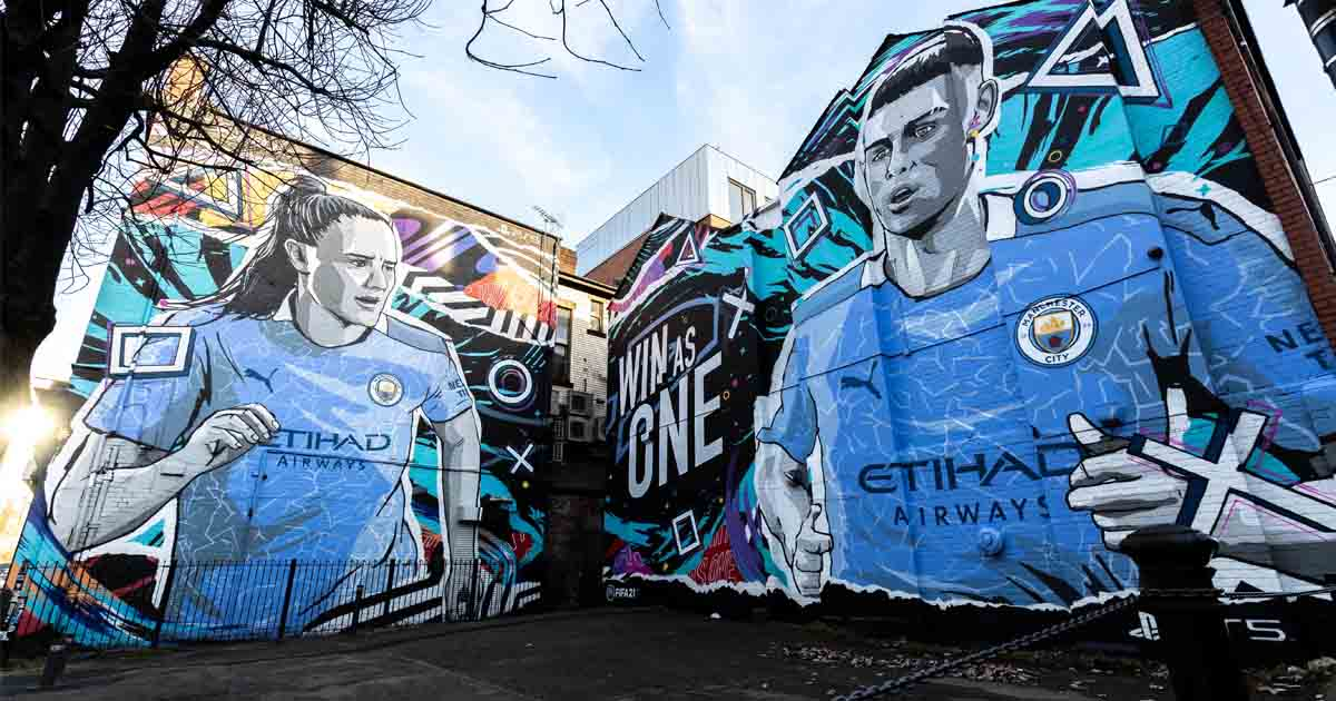 EA Sports Unveil Murals Of Young Stars Across The UK ...