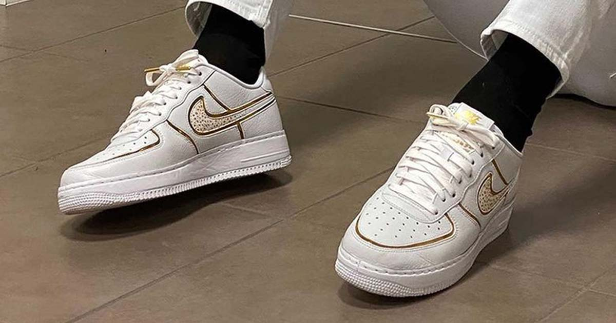 Ronaldo Receives First Customisable Air Force 1 Low CR7 - SoccerBible
