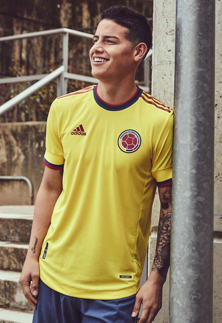 adidas Launch Colombia 2021 Home Shirt - SoccerBible