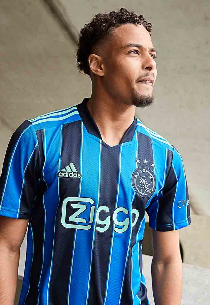 Ajax Unveil New 21/22 Away Shirt From adidas - SoccerBible
