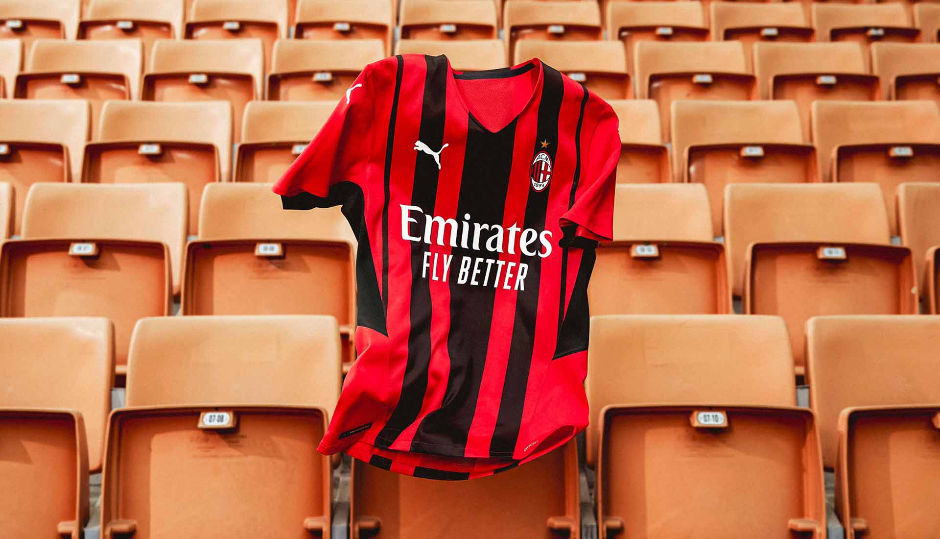 PUMA Launch AC Milan 21/22 Home Shirt - SoccerBible