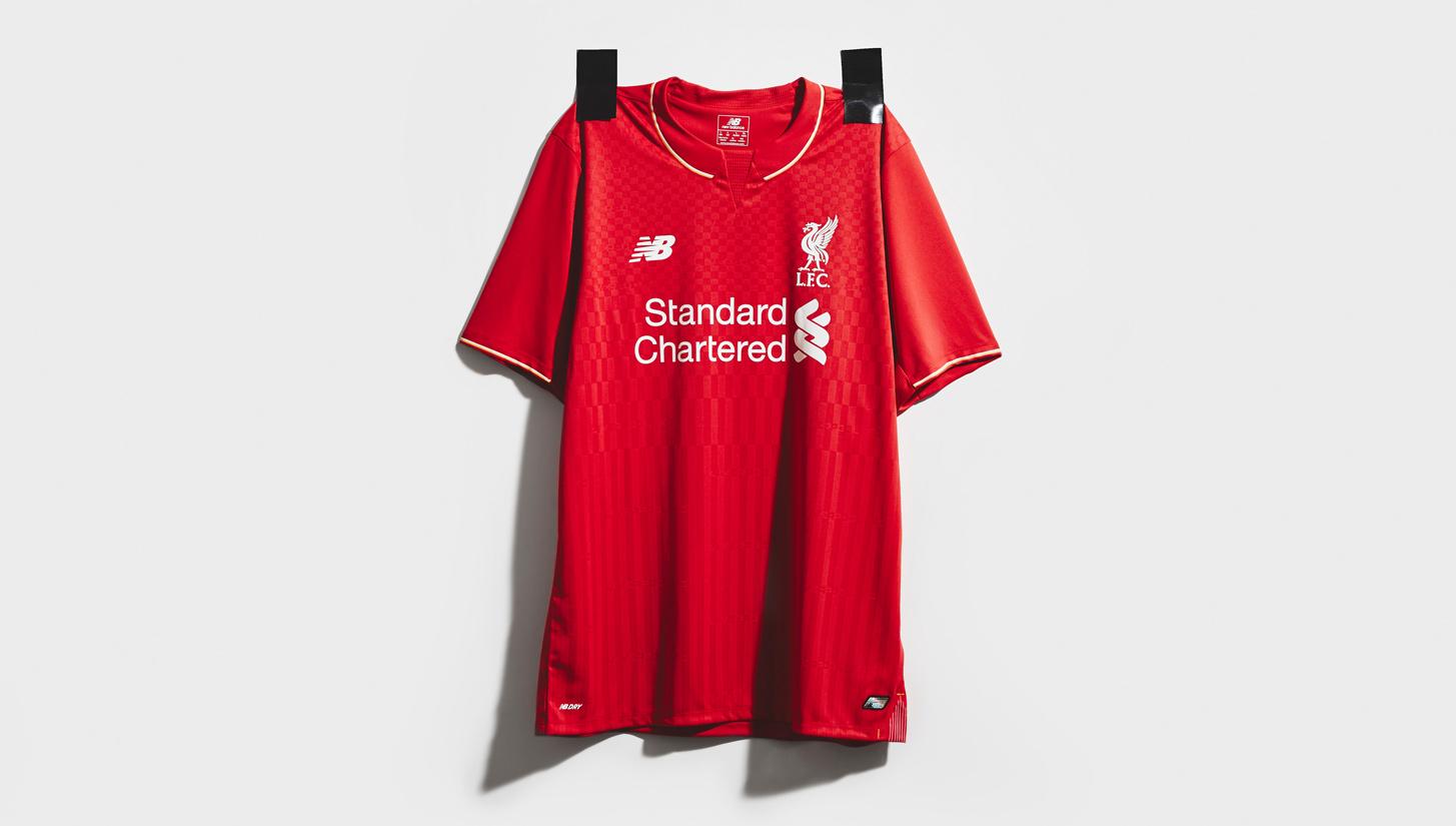 dd5593406 New Balance Unveil Liverpool 15 16 Home Kit
