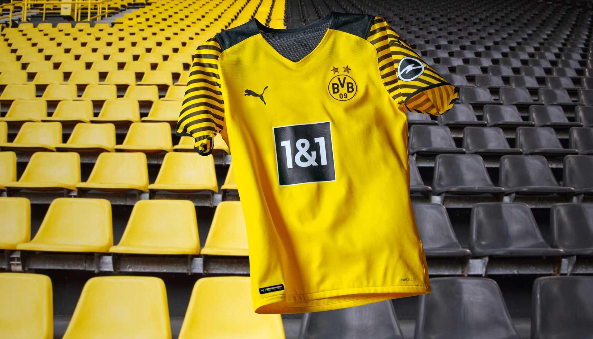 PUMA Launch Borussia Dortmund 21/22 Home Shirt - SoccerBible