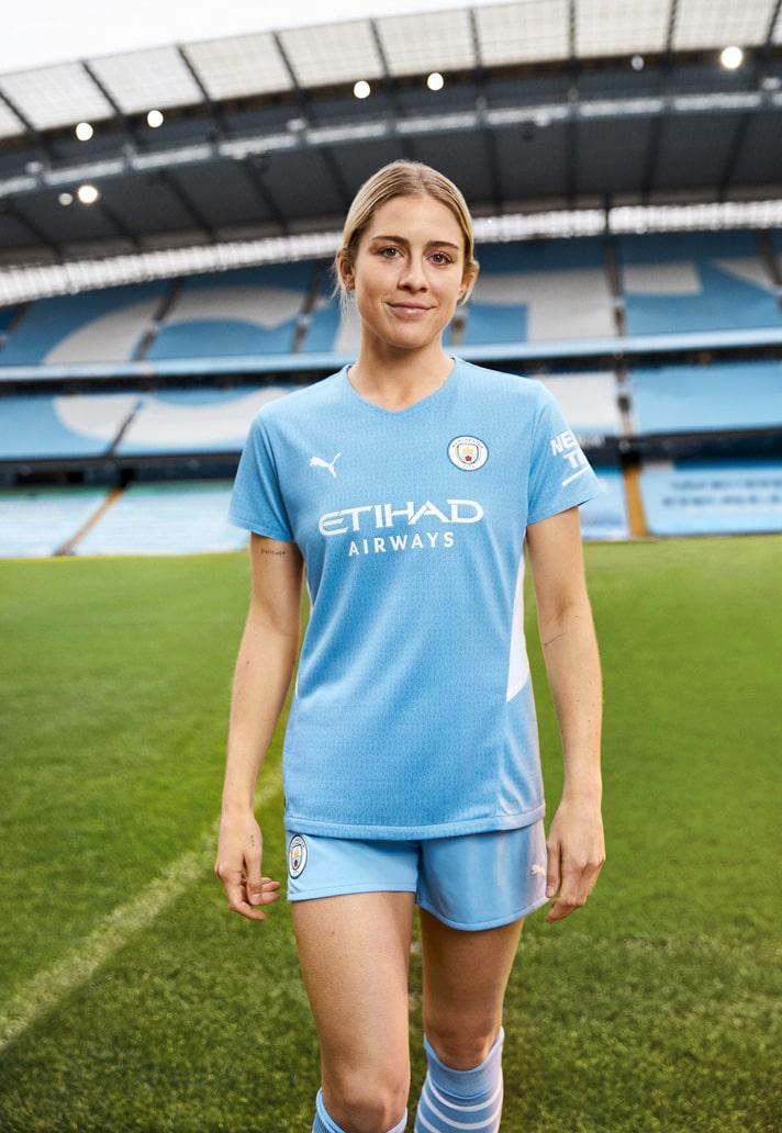 Puma Launch Manchester City 21 22 Home Shirt Soccerbible