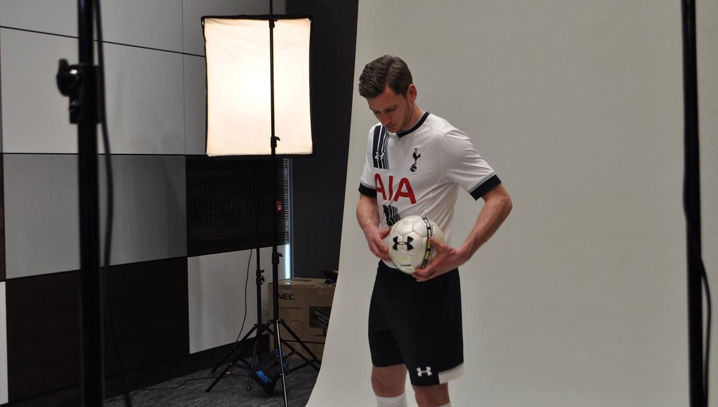 da6957f92dc Tottenham Hotspur 15 16 Home Kits - SoccerBible