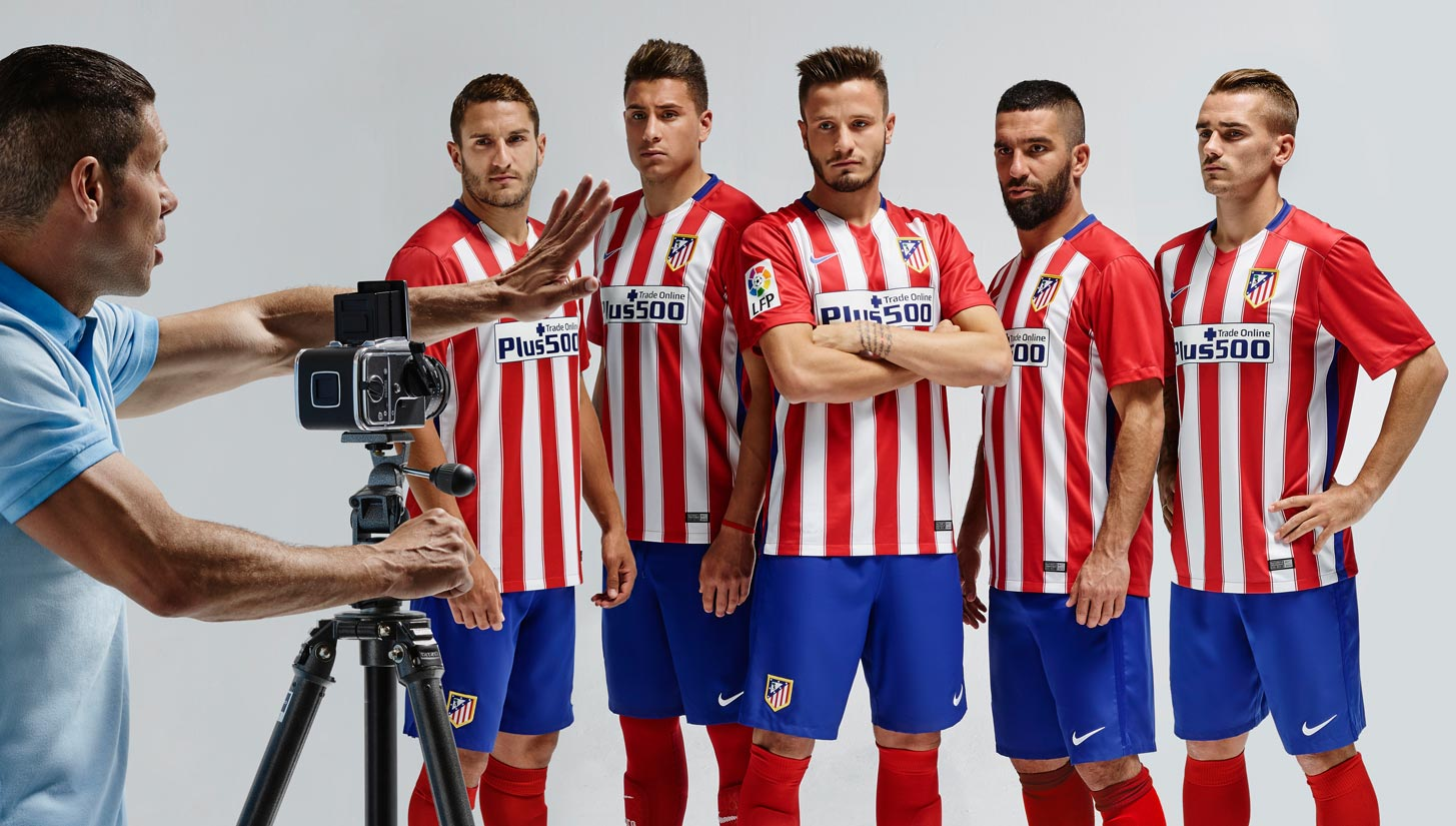 62063270 Nike Unveil Atletico Madrid 15/16 Home Shirt - SoccerBible