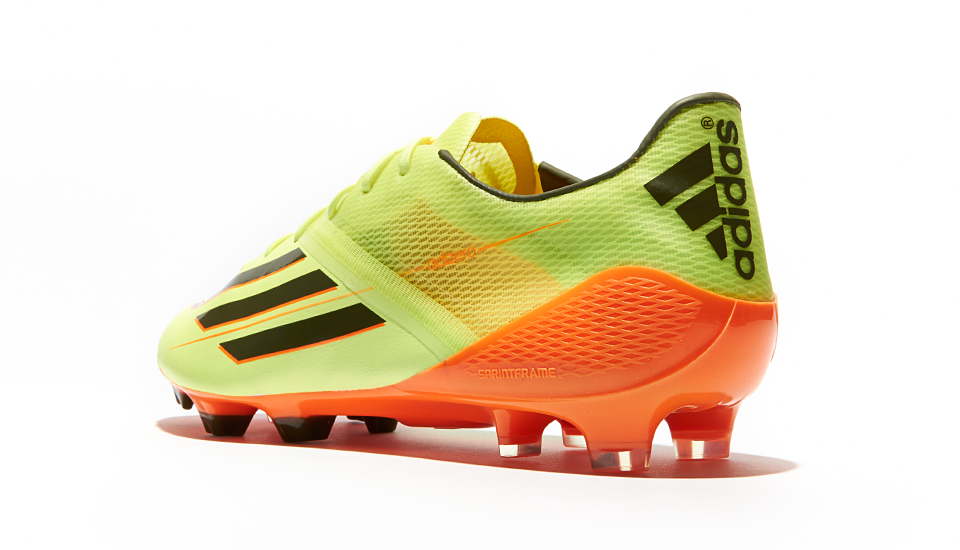 7f77df47ae2 adidas Launch Champions League F50 Colourway - Earth Glow - SoccerBible